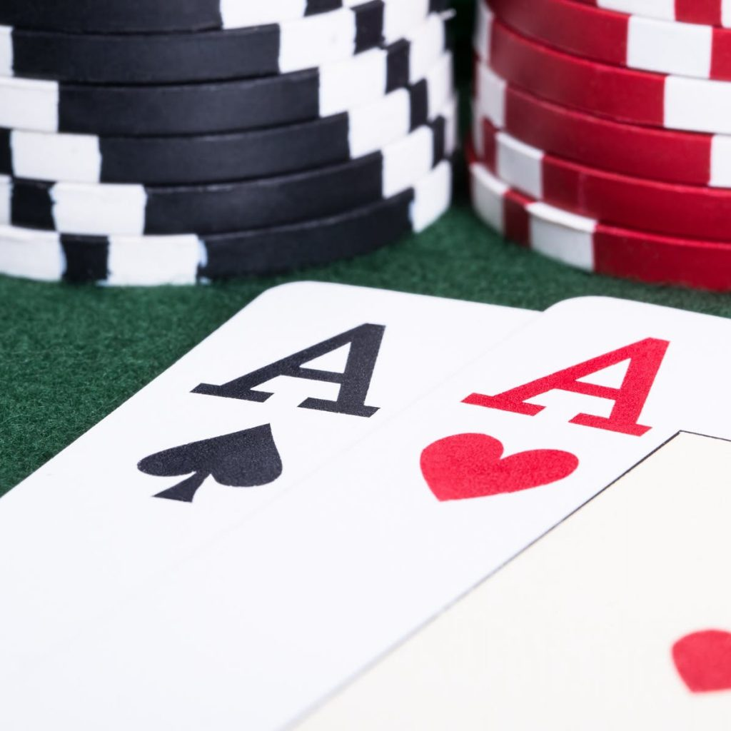 a casino features a game in which
